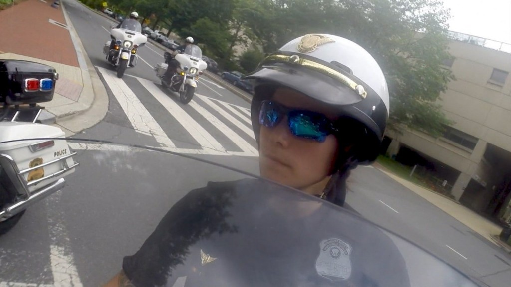 Meet the 1st woman Secret Service motorcycle officer