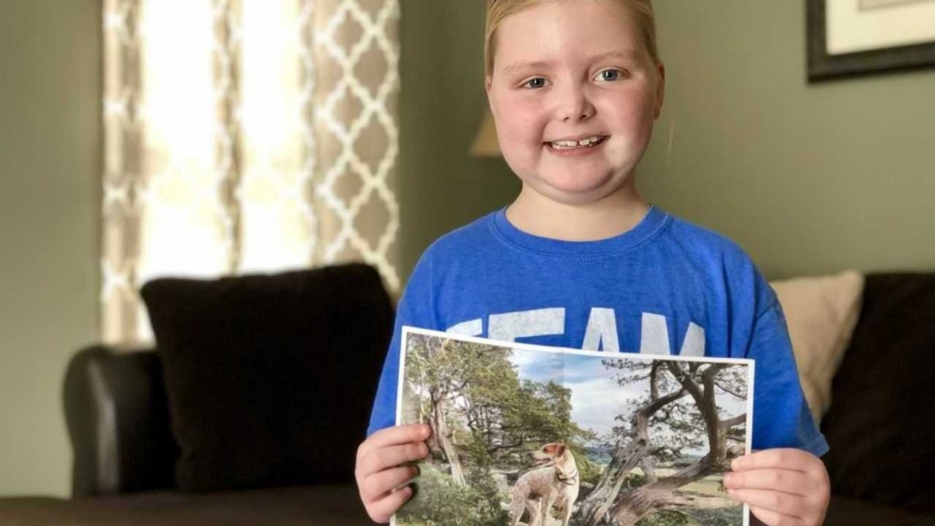Young Wisconsin girl with inoperable brain tumor visited by K-9 officers