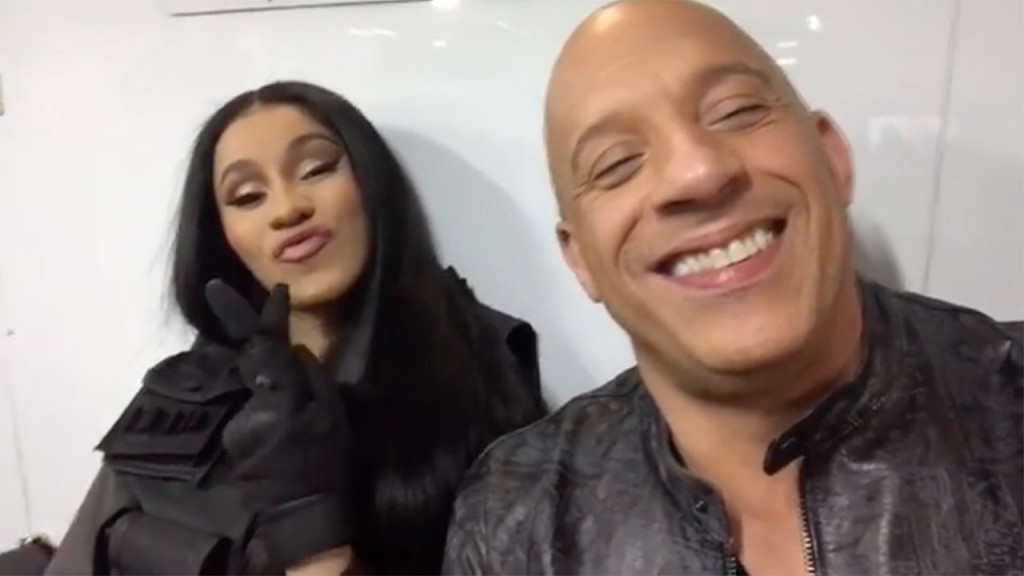 Cardi B has joined 'Fast and Furious 9'