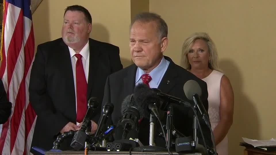 Roy Moore announces 2020 bid for US Senate seat