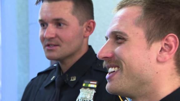 NYPD cops learned they're cousins