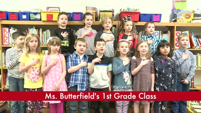 Ms. Butterfield's 1st Grade (3/19)