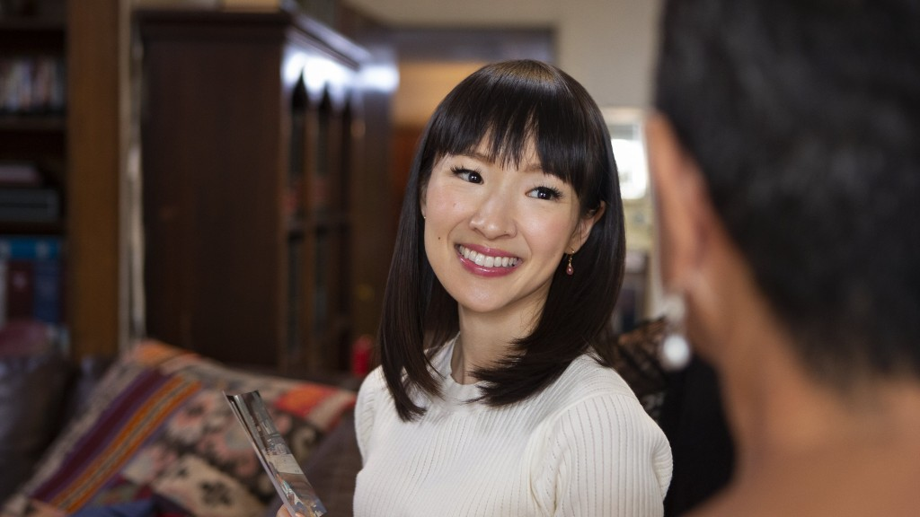 Marie Kondo's tidying isn't just about appearances