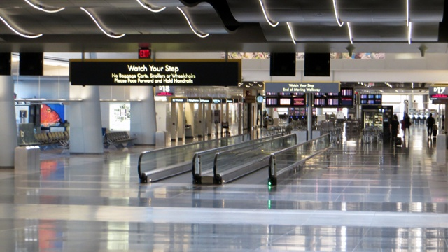 Las Vegas police shoot man accused of attacking officers at airport