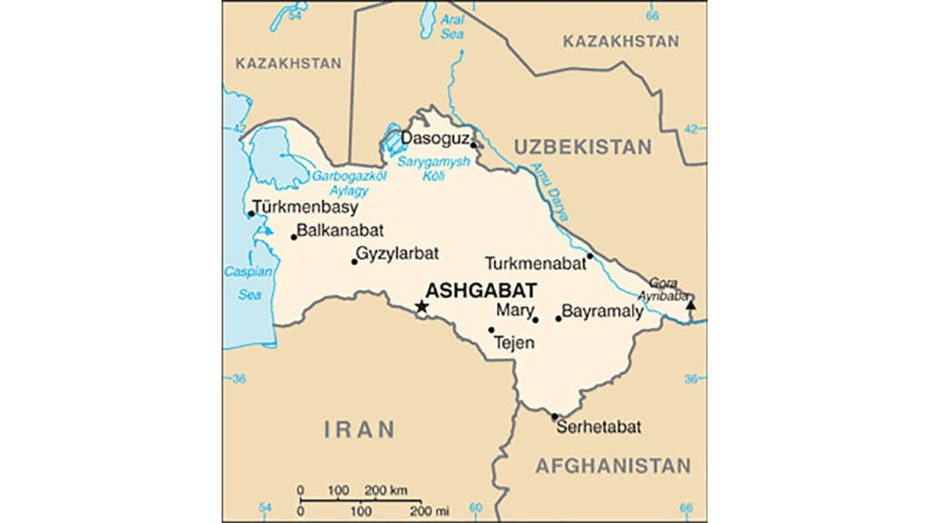Is Turkmenistan on the brink of collapse?