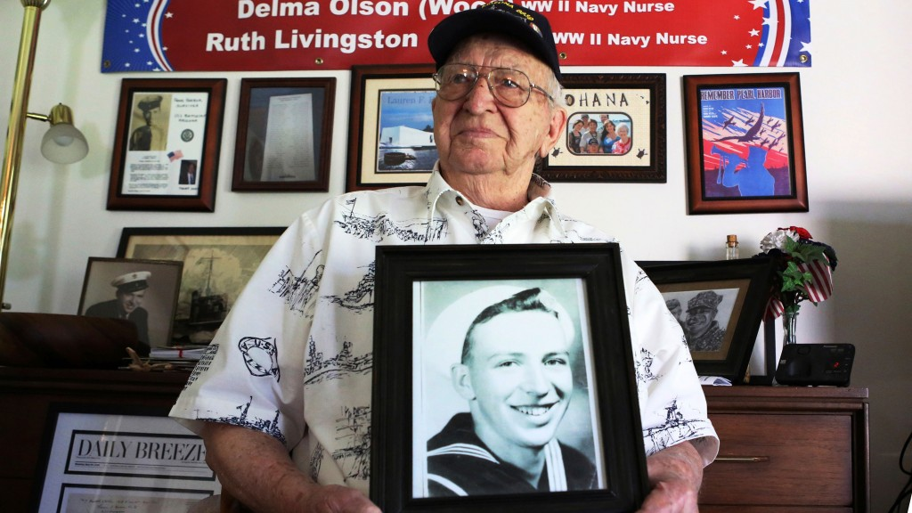 One of last USS Arizona survivors will be interred on sunken ship