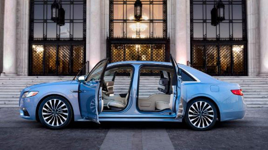 Lincoln Continental brings back 'suicide doors'