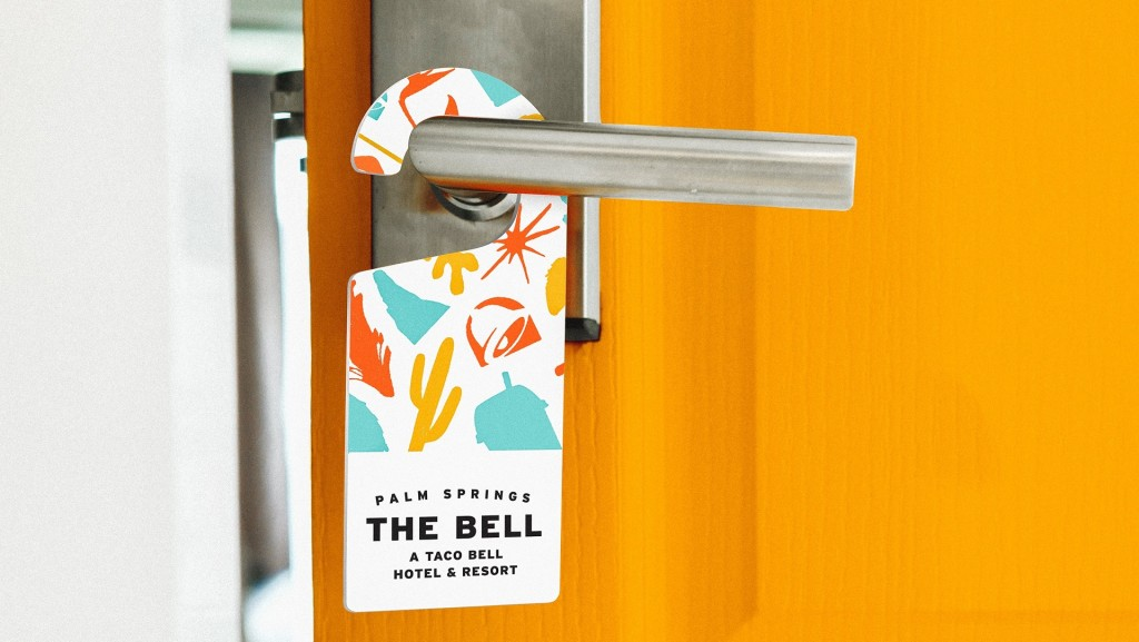 Taco Bell taking over hotel – sort of