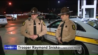 Troopers come to the rescue when heart transplant vehicle gets a flat
