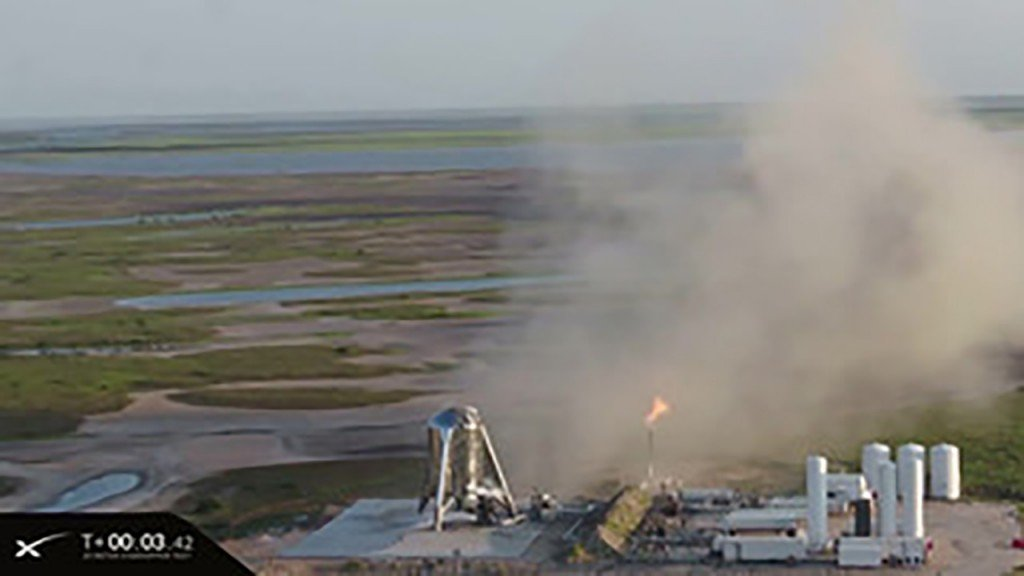 Watch SpaceX's scrapped Starship test