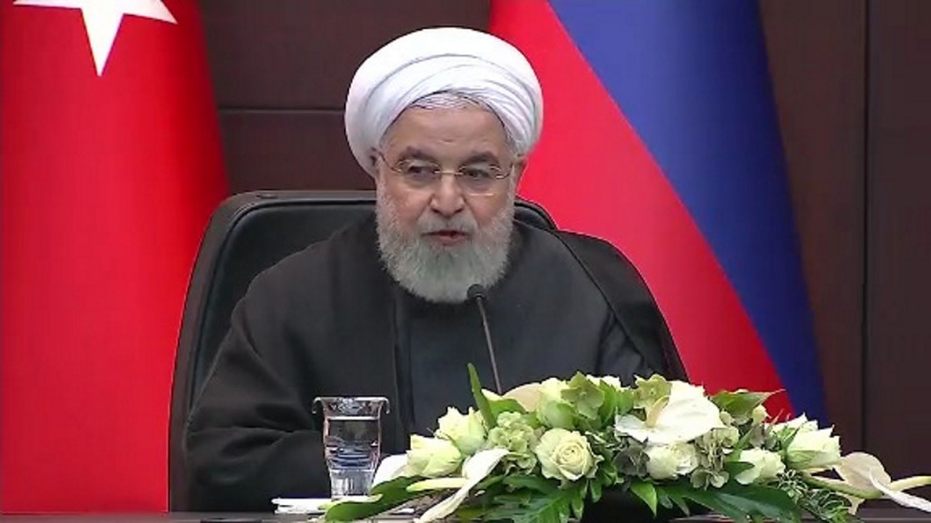 Iran tests new uranium enrichment centrifuges, President Rouhani says