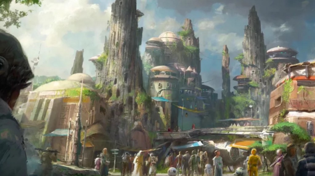 Disney spares no expense in Star Wars: Galaxy's Edge