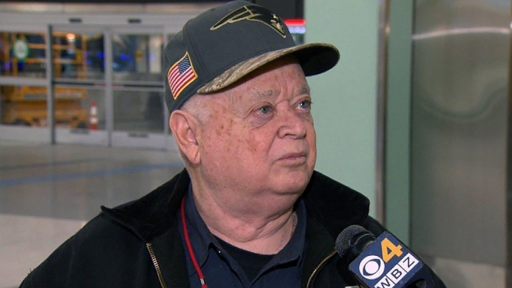 Patriots fan heads to Atlanta for his 53rd Super Bowl