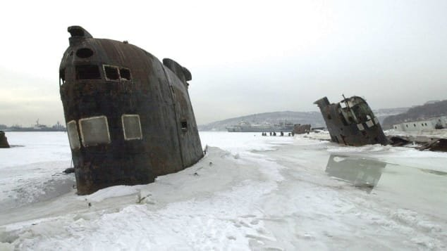 Striking photos show abandoned Cold War sites across world