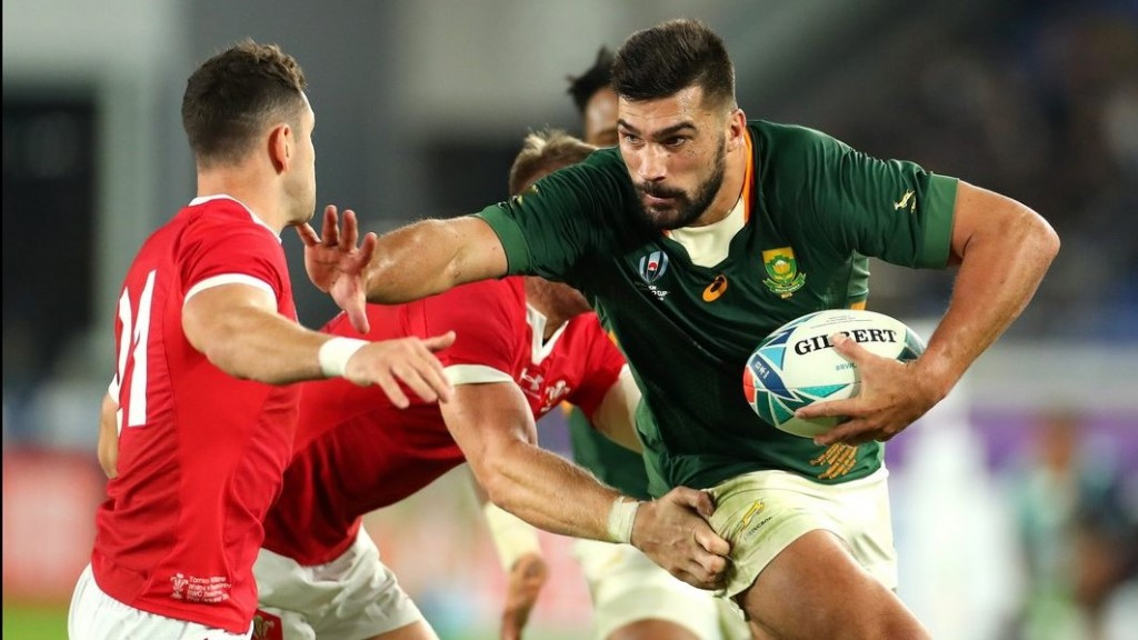 South Africa edges past Wales to reach third Rugby World Cup final