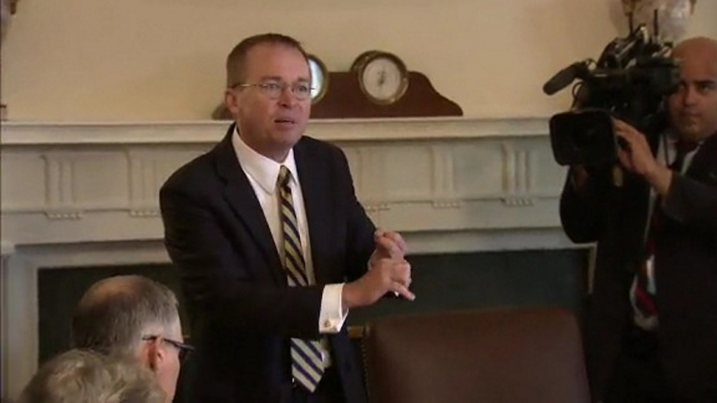 Mulvaney attempts to join lawsuit over House subpoena