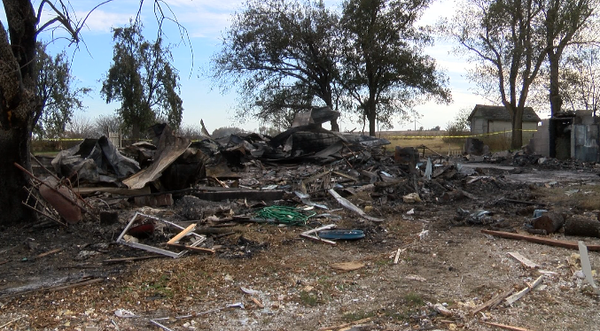 A Moran, Kansas man still hospitalized following home explosion, Saturday afternoon