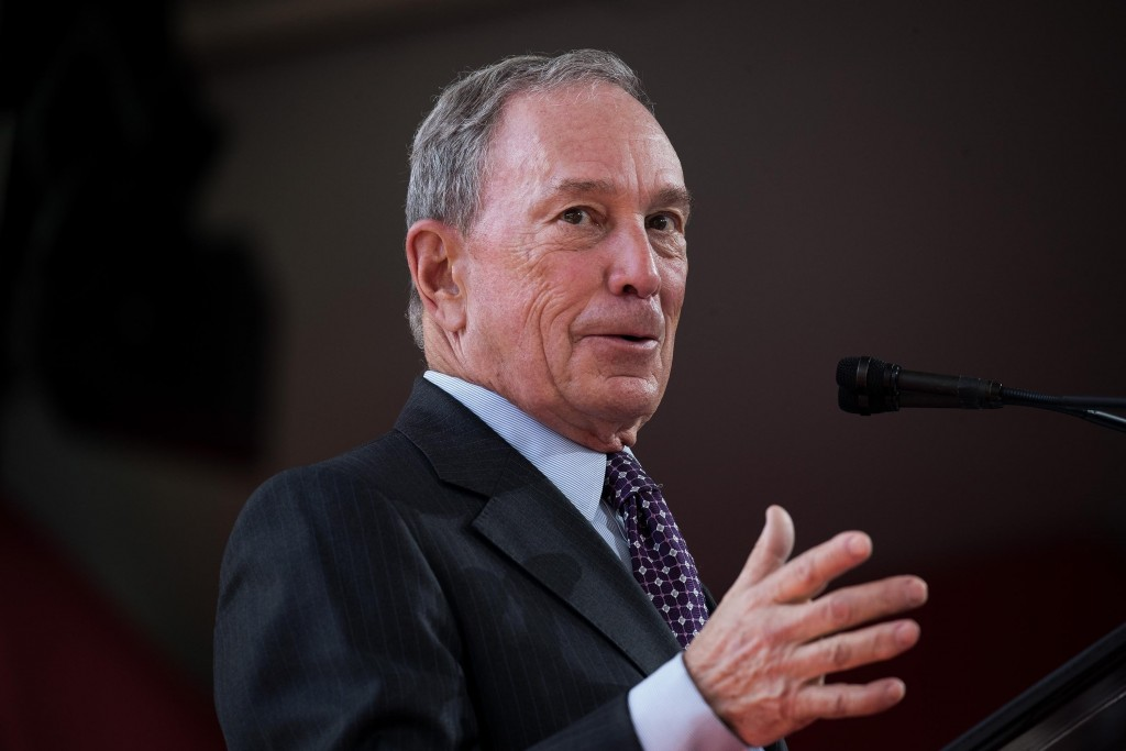 Michael Bloomberg says he won't run for president in 2020