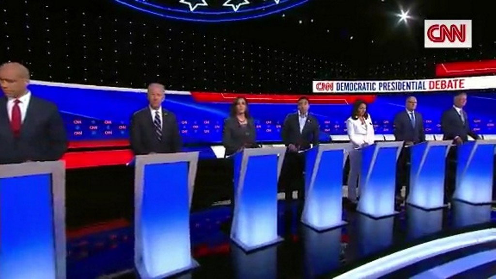 Dems' second night debate drew 11.3 million viewers on TV, online