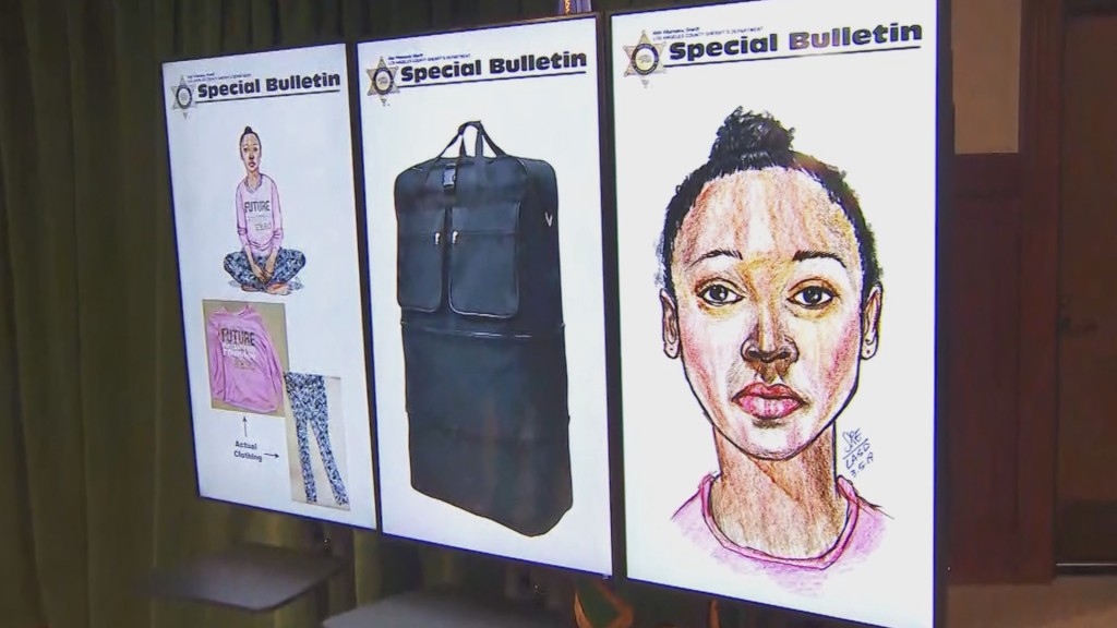California police identify girl's body found in duffel bag