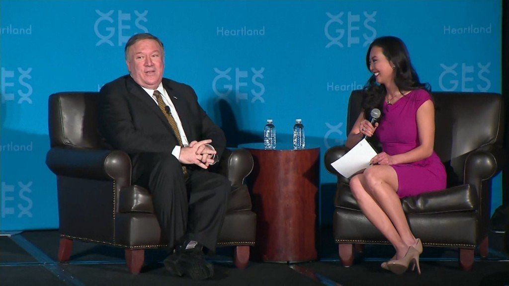 Pompeo: I'll be secretary of state until Trump 'tweets me out of office'
