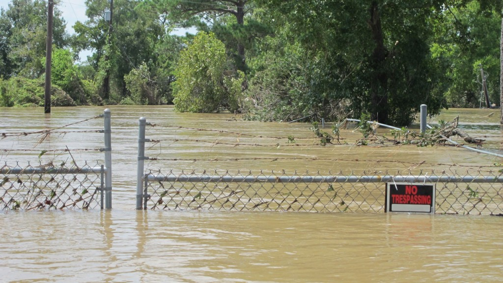 Toxic waste sites in areas at risk of worsening natural disasters