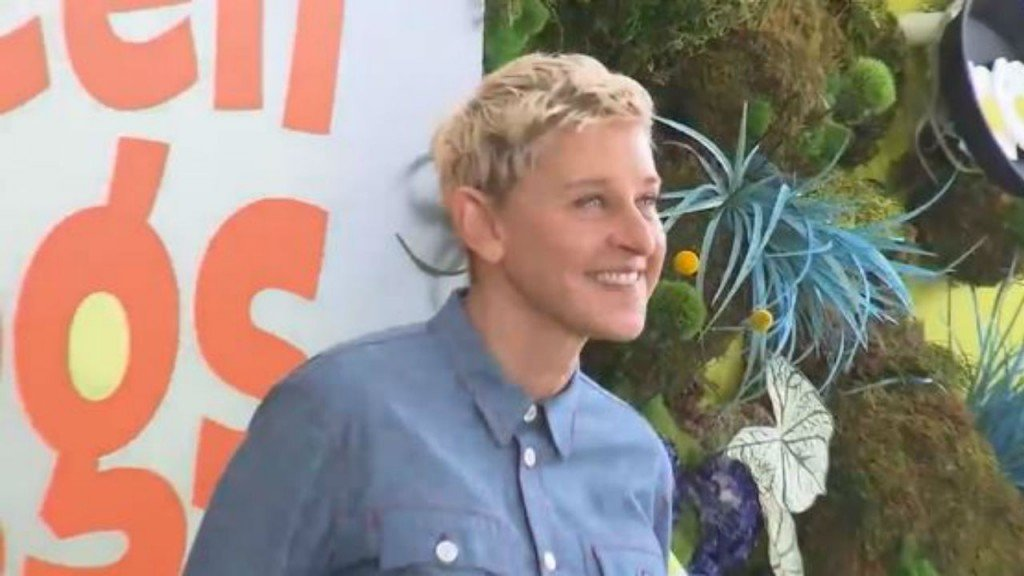 Hollywood Minute: Big honor for Ellen Degeneres