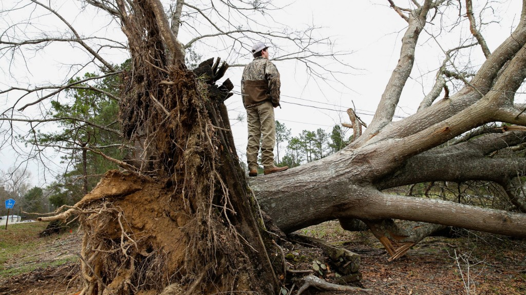 Alabama may face more severe weather this weekend as it digs out from last Sunday's tornadoes