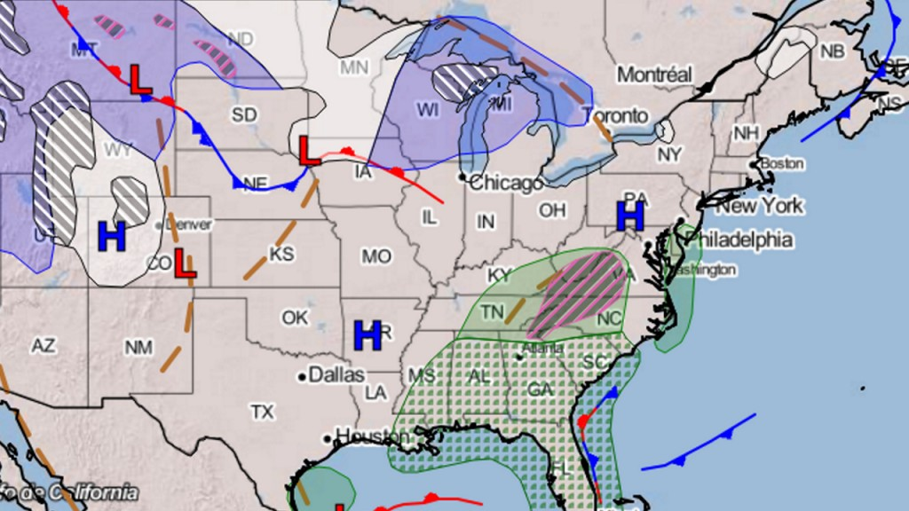 Another storm will impact the East Coast this weekend