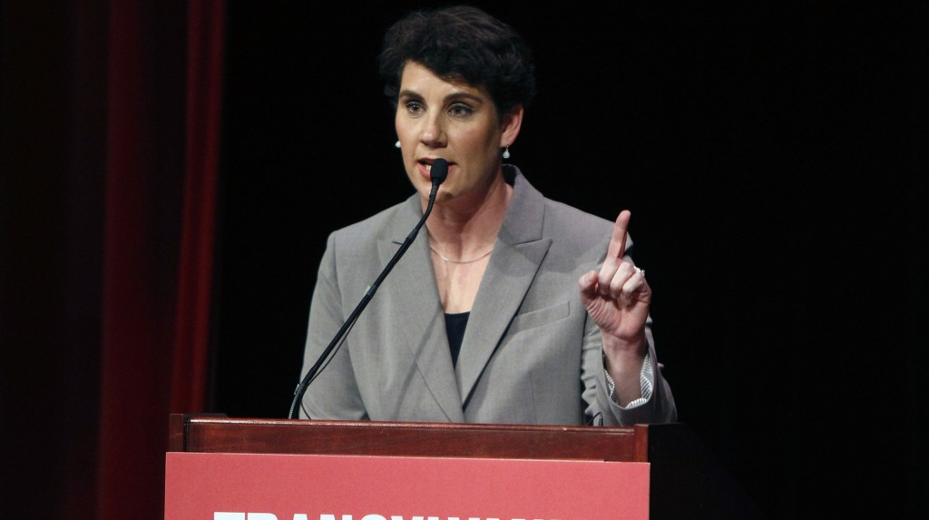 Amy McGrath announces bid to take on Mitch McConnell in 2020