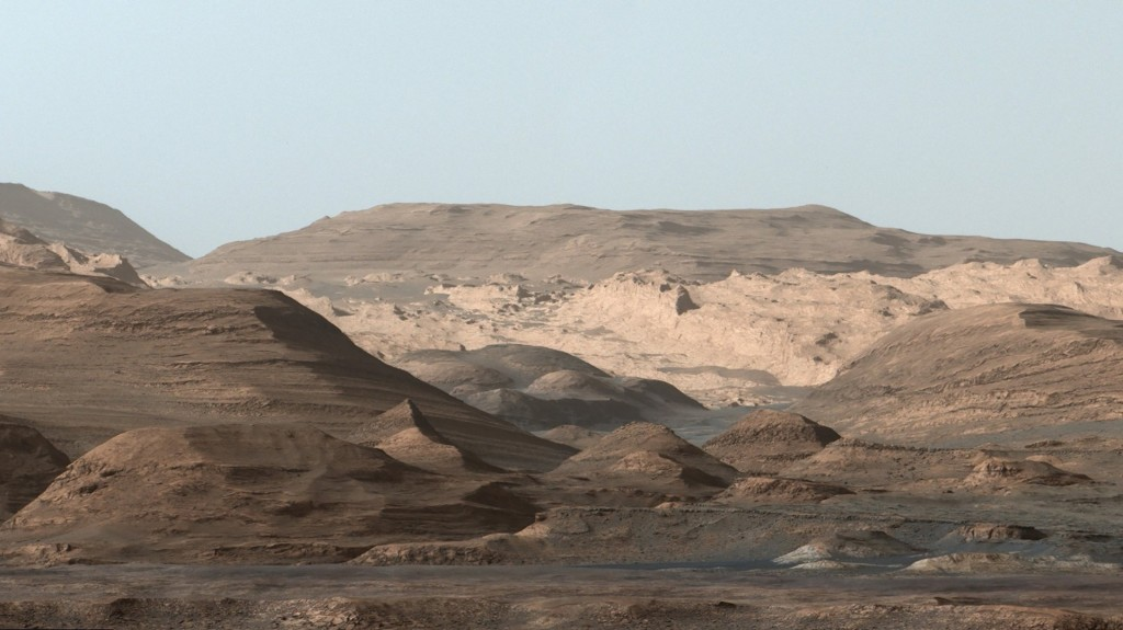 How did this mountain form on Mars? Curiosity rover investigates