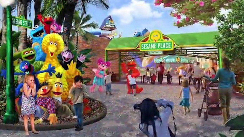 SeaWorld announces new Sesame Place theme park in San Diego