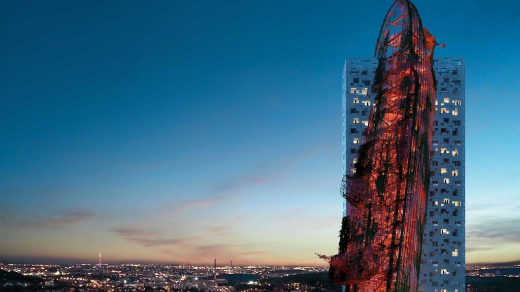 Controversial 'shipwreck' tower could soon be Prague's tallest building