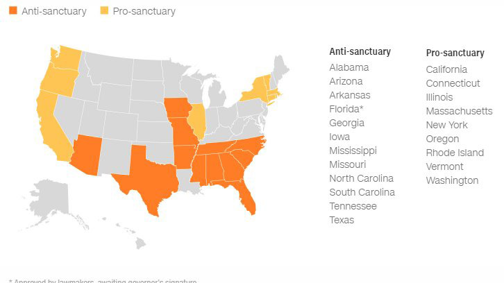 Fla. is about to ban sanctuary cities