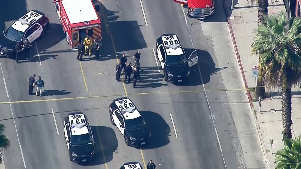 Police: Machete-wielding robbery suspect shot, killed in Hollywood