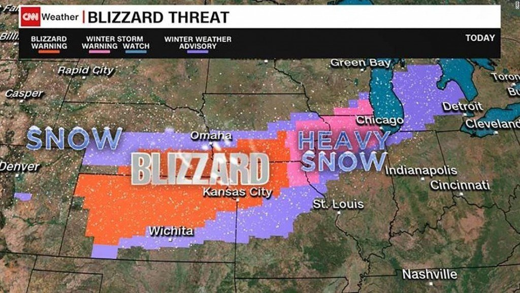 Millions under blizzard warning as winter storm impacts holiday travel