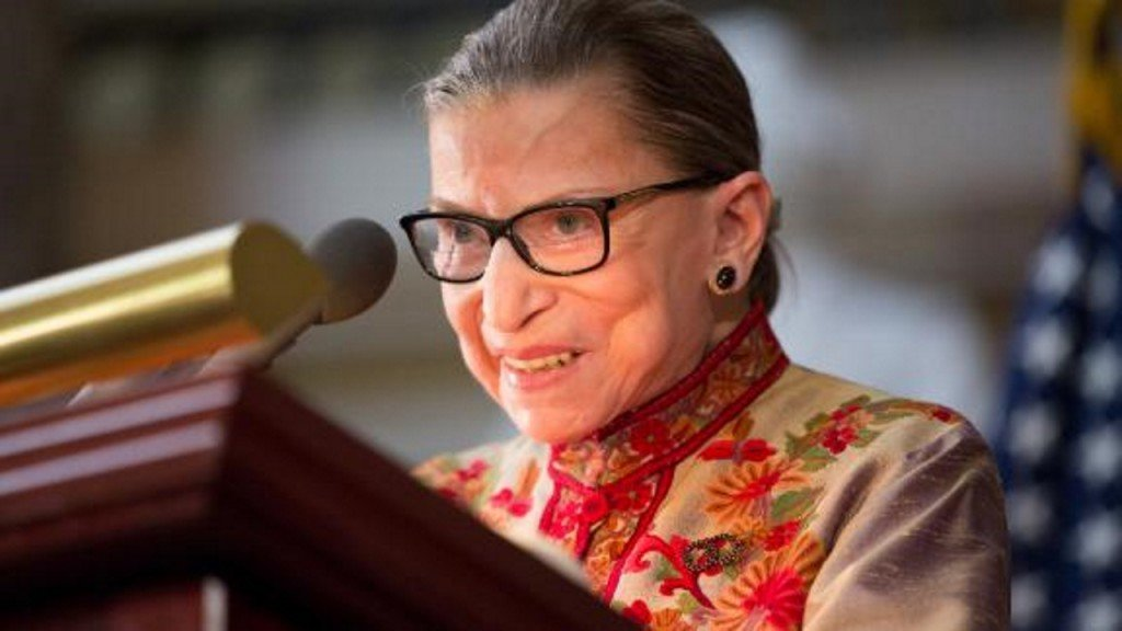 Ruth Bader Ginsburg: 'The president is not a lawyer'