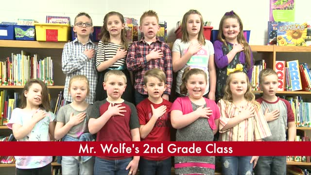 Mr. Wolfe's 2nd Grade (3/17)