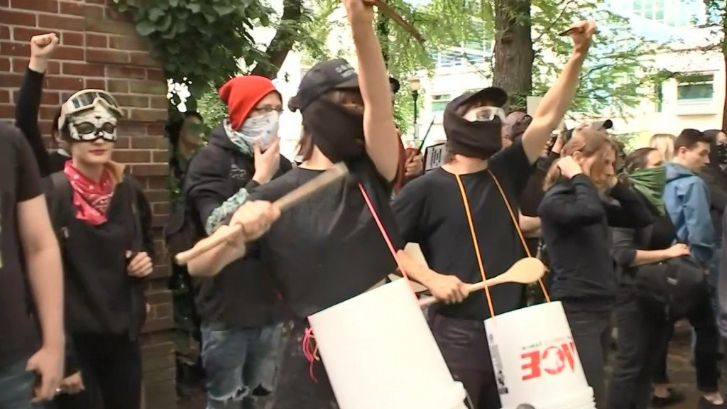 Proud Boys members found guilty of assault in brawl with Antifa