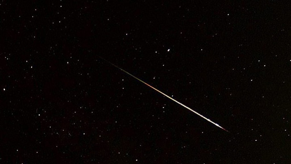 First meteor shower of year peaks tonight