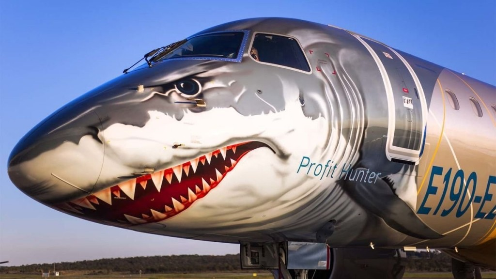 The wild new passenger jet with no middle seats, ever
