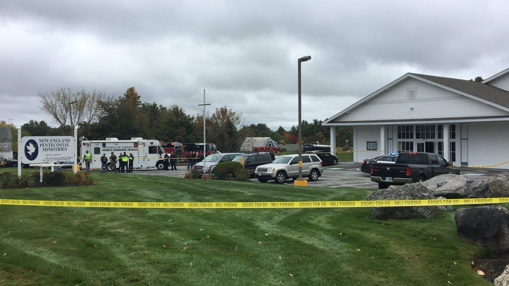 Wedding guests subdue suspect in NH church shooting