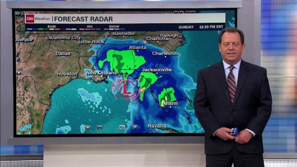 Strong Gulf storm will soak the South this weekend