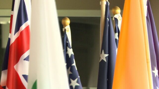 Ceremonies held to commemorate flag day