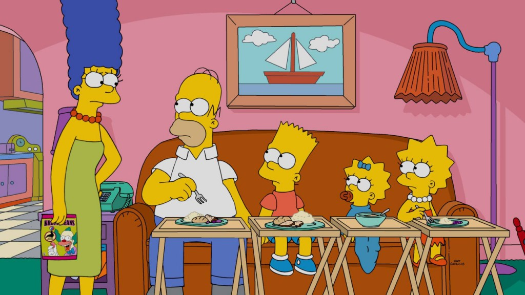 Welcome to your thirties, 'The Simpsons'