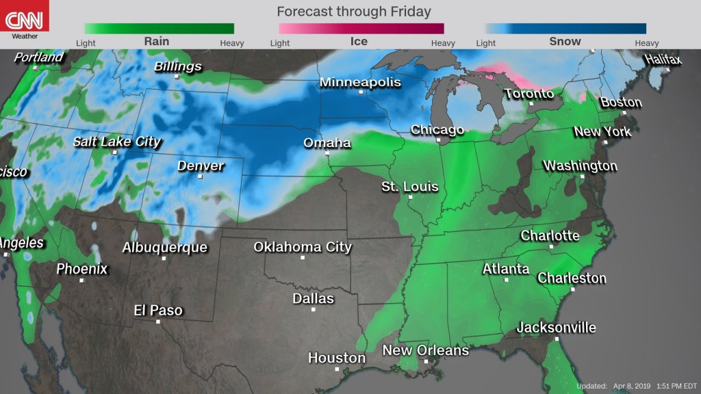 Could 2nd 'bomb cyclone' in less than month hit central US?