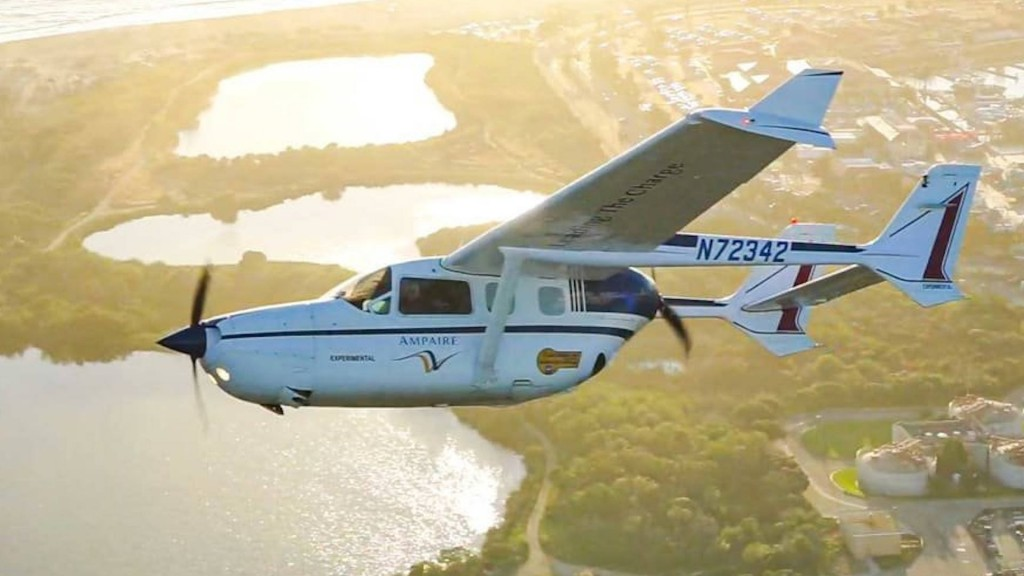 Tests to begin on Ampaire electric hybrid passenger airplane