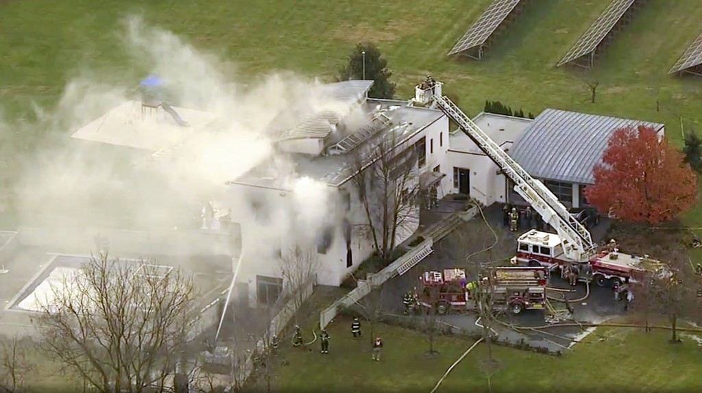 Fire at New Jersey mansion leaves 4 dead in possible arson case
