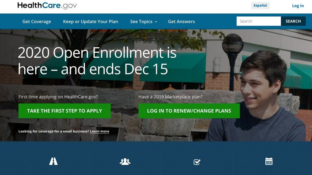 Sign ups for 2020 Obamacare coverage slide slightly