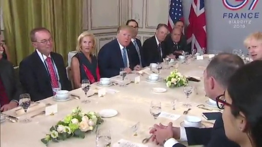 Trump insists all is well at G7, even as disputes boil